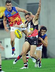 Wellington-AFL, St Kilda Saints v Brisbane Lions