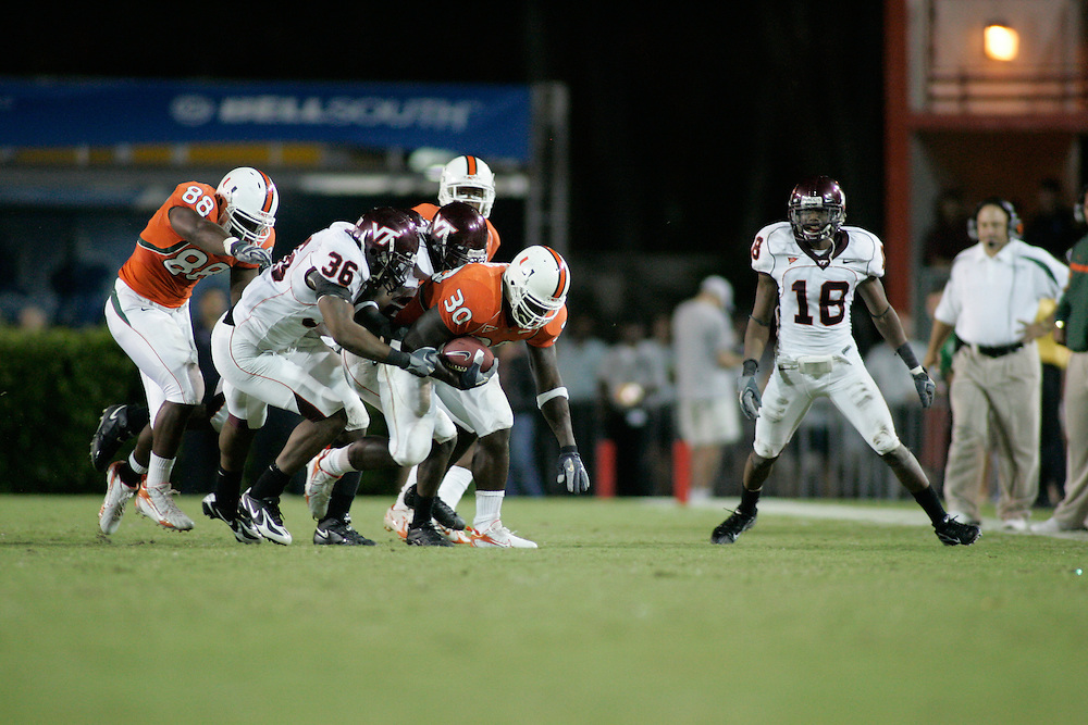2006 Miami Hurricanes Football vs Virginia Tech