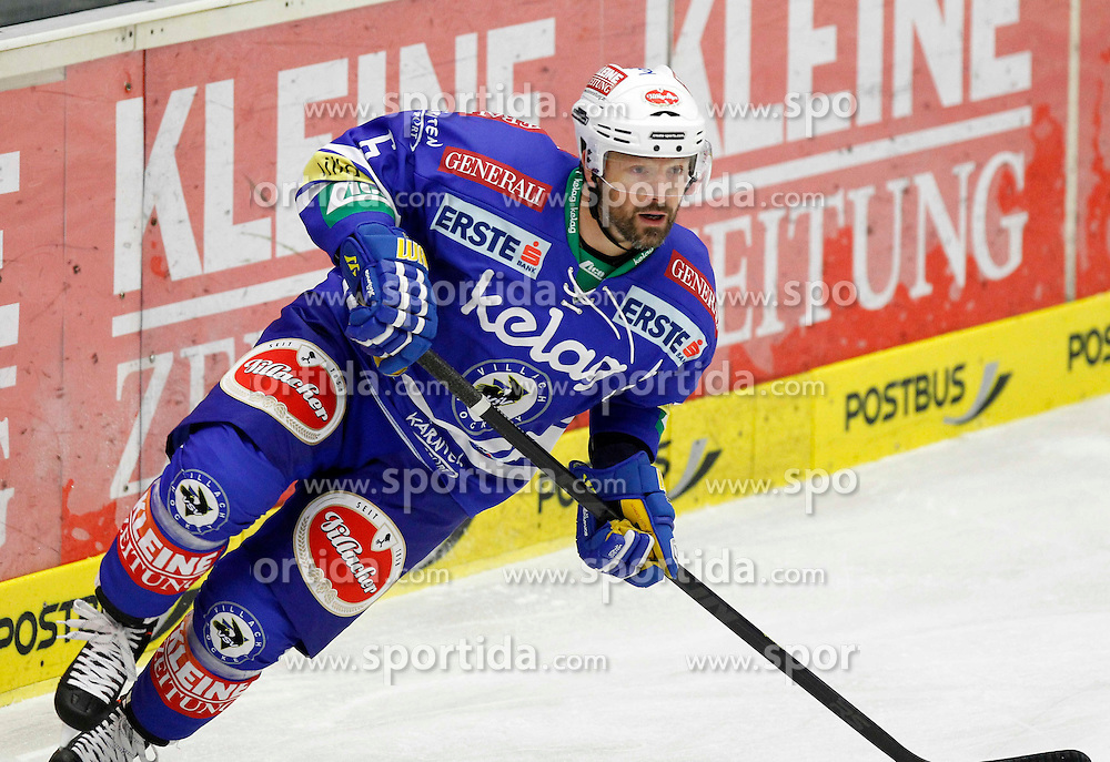 22.09.2013, Stadthalle, Villach, AUT, EBEL, EC VSV vs UPC Vienna Capitals, 9. Runde, im Bild Gerhard Unterluggauer (VSV,#6) // during the Erste Bank Icehockey League 9th round between EC VSV vs UPC Vienna Capitals at the City Hall, Villach, Austria, 2013/09/22, EXPA Pictures © 2013, PhotoCredit: EXPA/ Oskar Hoeher