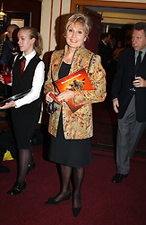 ANGELA RIPPON at the return of Dralion to celebrate the Cirque Du Soleil's 20th Anniversary at the Royal Albert Hall, London on 6th January 2005.<br /><br />NON EXCLUSIVE - WORLD RIGHTS
