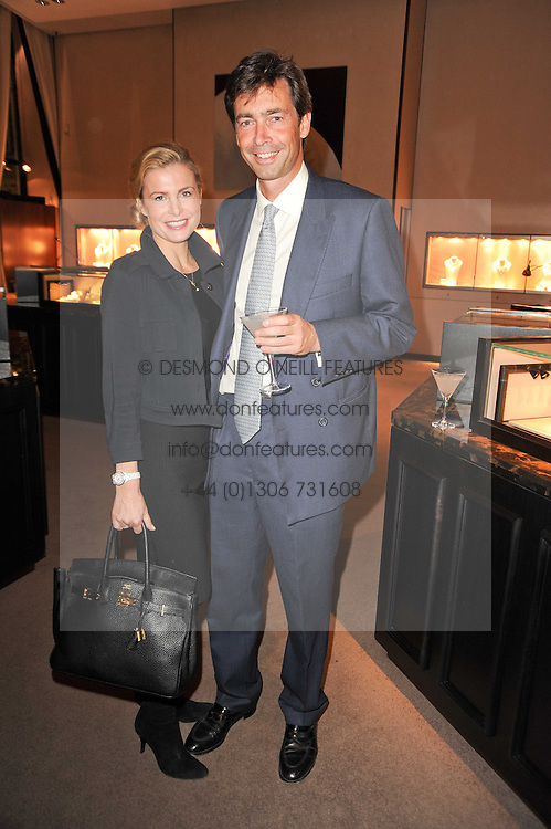 TIM ELIOT-COHEN and MELISSA LAWTON at a party to celebrate the publication of Inheritance by Tara Palmer-Tomkinson at Asprey, 167 New Bond Street, London on 28th September 2010.