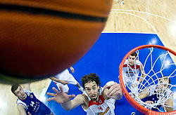 Pau Gasol of Spain during the EuroBasket 2009 Final match between Spain and Serbia, on September 20, 2009, in Arena Spodek, Katowice, Poland.   (Photo by Vid Ponikvar / Sportida)