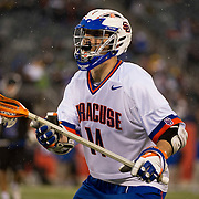 April 01,  2012:  Syracuse attack Tommy Palasek (14) during the Big City Classic at  Met Life Stadium in East Rutherford, New Jersey . Duke defeated Syracuse 12-10. (Credit Image: © Kostas Lymperopoulos/Cal Sport Media)