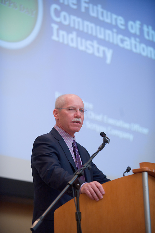 "19068Scripps Day: Keynote Speaker Rich Boehne, President and CEO of The E.W. Scripps Company..""The Future of the Communications Industry"""