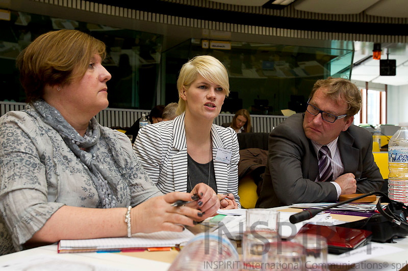 North Sea Supply Connect and Baltic Supply Joint Steering Group Meeting at the Committee of Regions in  Brussels 16 March 2011. Photo: Erik Luntang / INSPIRIT Photo