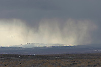 Storm over the high desert, , Sand Wash Basin, Colorado, USA   Photo: Peter Llewellyn