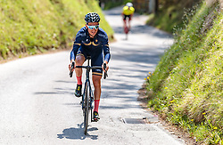 25.04.2018, Innsbruck, AUT, ÖRV Trainingslager, UCI Straßenrad WM 2018, im Bild Stefan Denifl (AUT) // during a Testdrive for the UCI Road World Championships in INNSBRUCK, Austria on 2018/04/25. EXPA Pictures © 2018, PhotoCredit: EXPA/ JFK