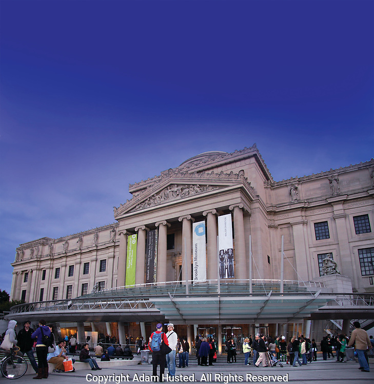 Brooklyn Museum Front Plaza. Photo © Adam Husted