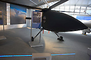 Boeing's A160T UAS at the US company's chalet Farnborough Airshow.