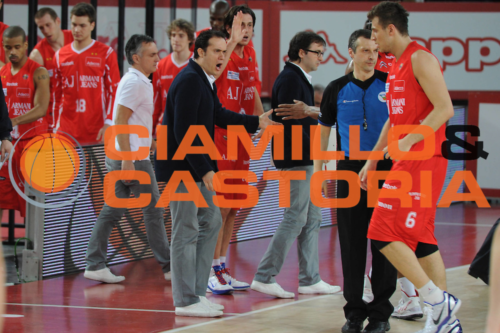 DESCRIZIONE : Roma Lega A 2010-11 Lottomatica Virtus Armani Jeans Milano<br /> GIOCATORE : Paolo Avantaggiato<br /> SQUADRA : Lottomatica Virtus Roma Armani Jeans Milano<br /> EVENTO : Campionato Lega A 2010-2011 <br /> GARA : Lottomatica Virtus Roma Armani Jeans Milano<br /> DATA : 06/03/2011<br /> CATEGORIA : <br /> SPORT : Pallacanestro <br /> AUTORE : Agenzia Ciamillo-Castoria/GiulioCiamillo<br /> Galleria : Lega Basket A 2010-2011 <br /> Fotonotizia : Roma Lega A 2010-11 Lottomatica Virtus Roma Armani Jeans Milano<br /> Predefinita :
