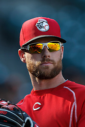 SAN FRANCISCO, CA - JULY 26: Zack Cozart #2 of the Cincinnati Reds looks on during batting practice before the game against the San Francisco Giants at AT&T Park on July 26, 2016 in San Francisco, California.  The San Francisco Giants defeated the Cincinnati Reds 9-7. (Photo by Jason O. Watson/Getty Images) *** Local Caption *** Zack Cozart