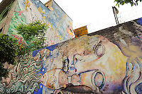 """Blu, street artist italiano di fama internazionale, ha completato un gigantesco murales sulla facciata dell'ex caserma dell'Aeronautica Militare di Roma, in via del Porto Fluviale. L'edificio è stato occupato nel 2003 e al suo interno vivono circa 450 persone. """"Chiedere a un artista come lui di ridipingere la facciata, è stata una sfida - aveva dichiarato nel giugno 2013 Luca Faggiano, uno dei rappresentanti del coordinamento cittadino lotta per la casa - Non vogliamo più quel muro grigio ma una città più aperta, quel luogo è di tutti"""". Ora sull'ex caserma dominano i colori: le finestre sono diventate gli occhi, e in un caso la bocca, di 27 volti enormi. Come racconta Blu suo blog, il progetto è stato realizzato senza alcuna autorizzazione ufficiale ed è stato interamente finanziato dagli occupanti del Porto Fluviale. """"Durante i due anni impiegati per crearlo - scrive l'autore - ho lavorato e vissuto in questo edificio ed è stata una delle migliori esperienze della mia vita"""""""
