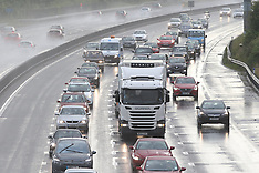 M27 Weather crash