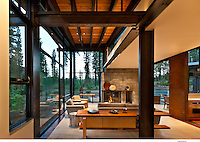 Martis Camp Residence...Faulkner Architects, Ethan Allen
