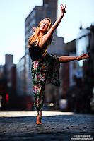 Dance As Art New York City Photography Project SoHo Series with dancer, Claudia Maciejuk