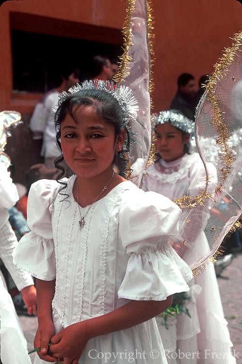 MEXICO, SAN MIGUEL, EASTER Good Friday Encuentro Procession