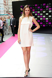 Image ©Licensed to i-Images Picture Agency. 16/07/2014. London, United Kingdom. Amber LeBon attends the VIP screening of Kasabian, Vue Leicester square. Picture by Chris Joseph / i-Images
