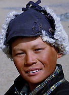 portraits from mongolian people