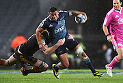 Charles Piutau during the Blues v Chiefs Super Rugby match at Eden Park, Auckland, New Zealand. Saturday 11 July 2014. Photo: Andrew Cornaga/Photosport.co.nz