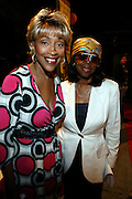 """Cynthia Holiday Moore and Sandra Trim-DaCosta at The launch of the Women in Entertainment Empowerment Network's (WEEN) """"Don't Judge Me...EmPower Me"""" national tour, where entertainment icons and executives will participate with thousands of young adults in intimate, interactive panel discussions held at the Hammerstein Ballroom on June 28, 2008..Topics include health; financial literacy, hosted by Genworth Financial; leadership and career development, hosted by Interpublic Group (IPG) and relationships, hosted by BET Networks.."""