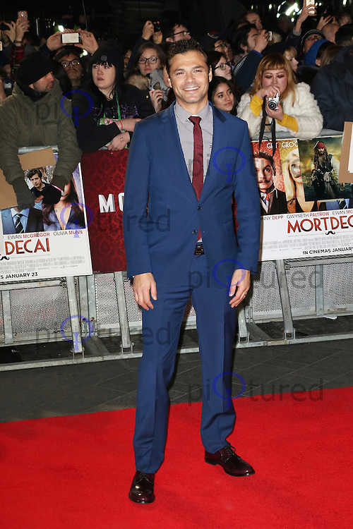 Jonny Pasvolsky, Mortdecai - UK film premiere, Leicester Square, London UK, 19 January 2015, Photo by Richard Goldschmidt