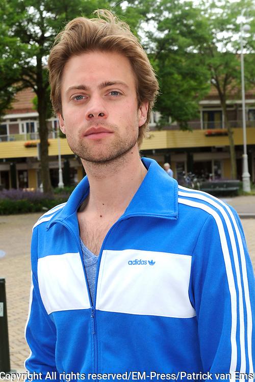 Perspresentatie van het toneelstuk The Normal Heart in het Zonnehuis in Amsterdam.<br /> <br /> Op de foto:  Jelle de Jong