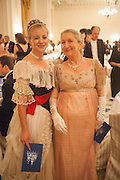 MARINA ARKELL-WRIGHT; LEELA HARDY, THE ST PETERSBURG BALL in aid of the Children's Burns Trust. Landmark Hotel. London. 2 February 2013