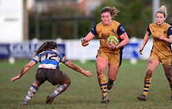 Sarah Bern of Bristol Ladies  - Mandatory by-line: Dougie Allward/JMP - 11/12/2016 - RUGBY - Cleve RFC - Bristol, England - Bristol Ladies v Darlington Mowden Park Ladies - RFU Women's Premiership