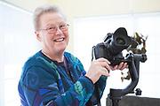 Piloten Ulla Rasilainen i Anchorage, Alaska, USA<br /> Ulla är en flitig hobbyfotograf som gärna fotograferar Alaskas natur och djurliv.