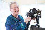 Piloten Ulla Rasilainen i Anchorage, Alaska, USA<br /> Ulla &auml;r en flitig hobbyfotograf som g&auml;rna fotograferar Alaskas natur och djurliv.