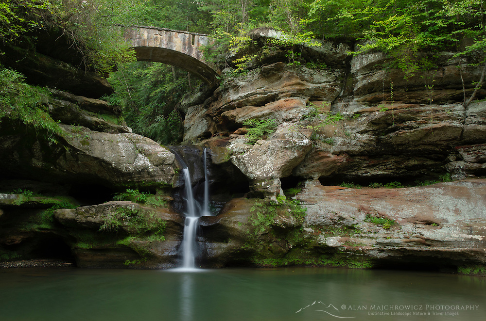 Old Man's Cave Upper Falls, Hocking Hills State Park Ohio