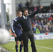 Dundee manager Paul Hartley - St Mirren v Dundee, SPFL Premiership at St Mirren Park<br /> <br />  - &copy; David Young - www.davidyoungphoto.co.uk - email: davidyoungphoto@gmail.com