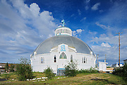 Our Lady of Victory Parish  is also known as the 'Igloo Church' (Catholic)<br /> Inuvik<br /> Northwest Territories<br /> Canada