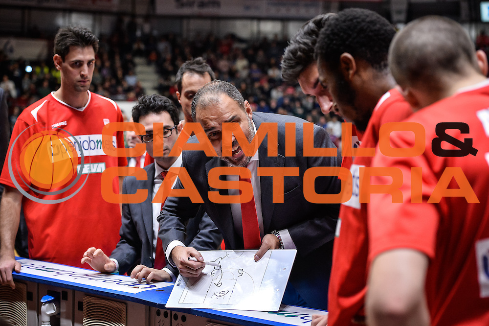 Moretti Paolo<br /> Openjobmetis Varese - Sidigas Avellino<br /> Basket Fiba Champions 2016/2017<br /> Desio 06/11/2016<br /> Foto Ciamillo-Castoria