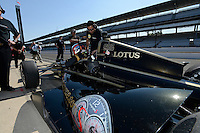 Jean Alesi, Indianapolis 500, Indianapolis Motor Speedway, Indianapolis, IN 05/27/12