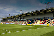 Newport County ground Rodney Parade prior to the Sky Bet League 2 match between Newport County and York City at Rodney Parade, Newport, Wales on 5 September 2015. Photo by Simon Davies.