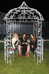 Left to right, sisters MATILDA TEMPERLEY, ALICE TEMPERLEY and MARY TEMPERLEY at the Quintessentially Summer Party at the Wallace Collection, Manchester Square, London on 6th June 2007.<br />