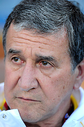 South African Coach Carlos Alberto Parreira during the 2010 World Cup Soccer match between South Africa and France played at the Freestate Stadium in Bloemfontein South Africa on 22 June 2010.