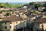 FRANCE, Saint Emilion<br /> View of the town of Saint Emilion