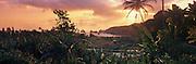 Sunrise, Keanae Peninsula, Hana Coast, Maui, Hawaii, USA<br />