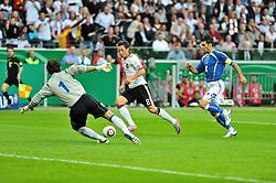 03.06.2010, Commerzbank-Arena, Frankfurt, GER, FIFA Worldcup Vorbereitung, Deutschland vs Bosnien-Herzegowina???, im Bild Kenan Hasagic (Bueyueksehir #01), Mesud Oezil (Werder Bremen #08), Ermin Zec (HNK Sibenik #04), Foto: nph /  Roth / SPORTIDA PHOTO AGENCY