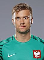 Uefa - World Cup Fifa Russia 2018 Qualifier / <br /> Poland National Team - Preview Set - <br /> Artur Boruc