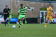 Forest Green Rovers Keanu Marsh-Brown (7) during the Vanarama National League match between Forest Green Rovers and Sutton United at the New Lawn, Forest Green, United Kingdom on 9 August 2016. Photo by Shane Healey.