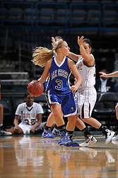Milwaukee - February 14: This image was made during the 2010-2011 Prep Series game between Oak Creek and West Allis Central on February 14, 2011 at the Bradley Center in Milwaukee, Wisconsin.