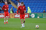 Wales midfielder Daniel James warming up during the Friendly match between Wales and Belarus at the Cardiff City Stadium, Cardiff, Wales on 9 September 2019.