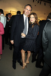 WILLIAM & VANESSA CASH at the Spear's Wealth Management Awards held at Sotheby's, 34-35 New Bond Street, London on 29th September 2008.