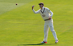 Surrey's Kevin Pietersen - Photo mandatory by-line: Harry Trump/JMP - Mobile: 07966 386802 - 21/04/15 - SPORT - CRICKET - LVCC County Championship - Division 2 - Day 3 - Glamorgan v Surrey - Swalec Stadium, Cardiff, Wales.
