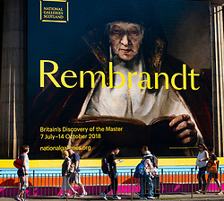 Edinburgh, Scotland, UK. 5 July, 2018.  Rembrandt: Britain's Discovery of the Master, which opens this weekend at the Royal Scottish Academy, is the first exhibition to tell the exceptionally rich story of how Rembrandt's work in Britain has enraptured and inspired collectors, artists and writers over the past 400 years. Until 14 October,