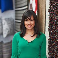 Samantha Pynn for IKEA portrait shot on location