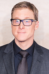 © Licensed to London News Pictures. 13/12/2016. ALAN TUDYK attends the launch of Rogue One: A Star Wars Story. The film follows a group of unlikely heroes banding together on a mission to steal the plans to the Death Star, the Empire's ultimate weapon of destruction. This key event in the Star Wars timeline brings together ordinary people who choose to do extraordinary things, and in doing so, become part of something greater than themselves. London, UK. Photo credit: Ray Tang/LNP